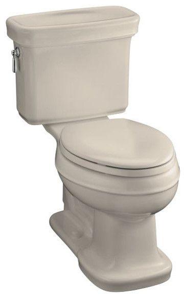 Kohler Bancroft Comfort Height Elongated Toilet - traditional - toilets -  other metro - Fixture Universe