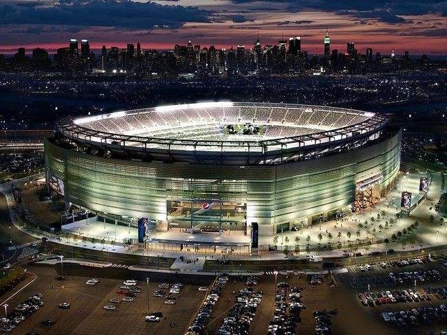 The MetLife Stadium, home of the Giants and Jets - http://architectism.com/the-metlife-stadium-home-of-the-giants-and-jets/ - giants stadium, jets stadium, MetLife Stadium, MetLife Stadium giants jets, MetLife Stadium images, MetLife Stadium new jersey