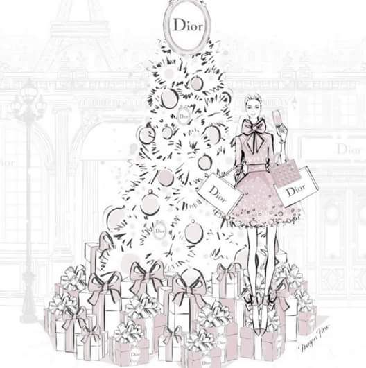 A Christmas in Dior