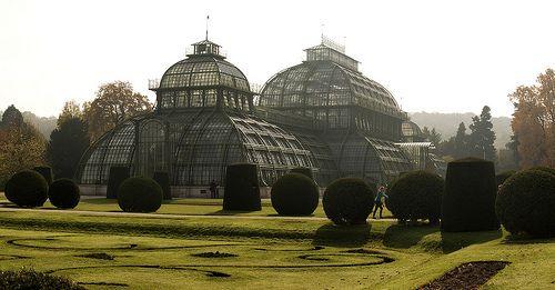 Palmenhaus, Tiergarten Schönbrunn - Vienna