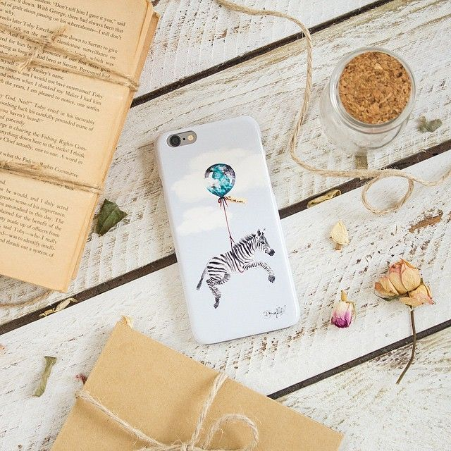 Far, Far Away  iPhone case by The Dairy