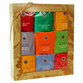 Stash Tea Company Stash Tea Gold Leaf Gift Set, 3.8-Ounce