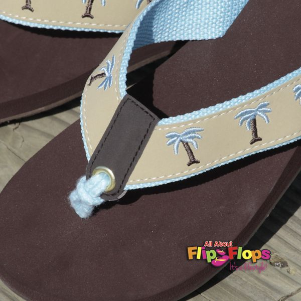 Breezy Palms Margaritaville Flip Flops – Beige