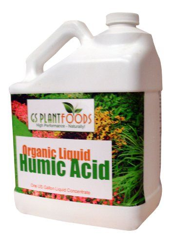 Organic Liquid Humic Acid,32 fl oz Concentrate