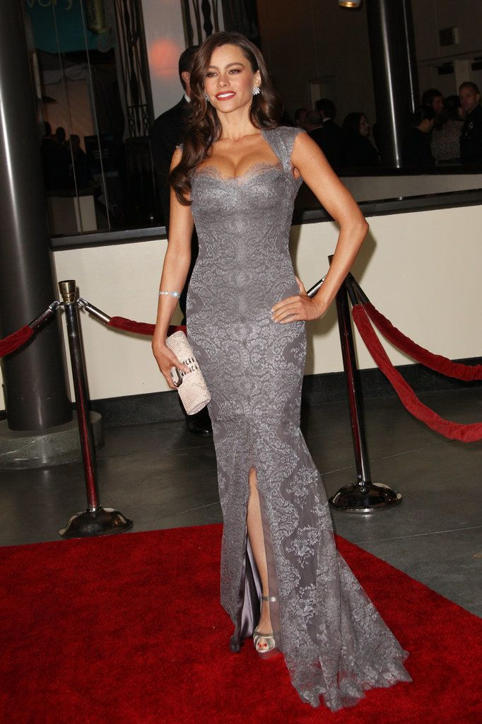Sofia Vergara is definitely a confident woman. The Modern Family actress is outspoken, not afraid to make fun of herself, a powerhouse when it comes to her career, and the ruler of any red carpet she steps on. The star proudly (and rightly so!) displays her curvy body in revealing outfits.