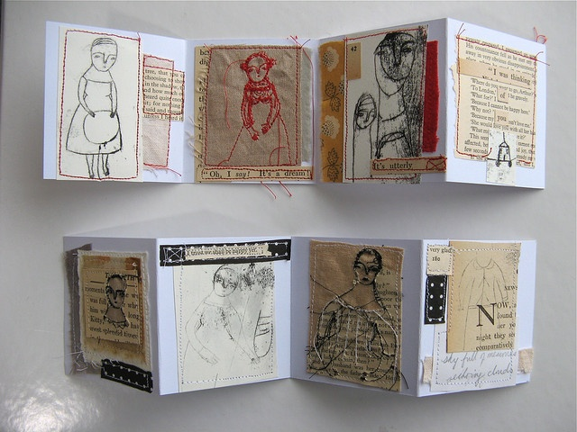 two artist books by Cathy Cullis