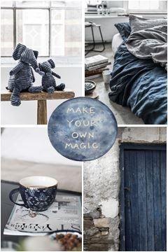 moodboard - indigo blue