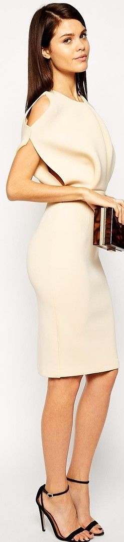 ASOS – advanced, svelte gown that can effortlessly go from working day to evening. You can ...