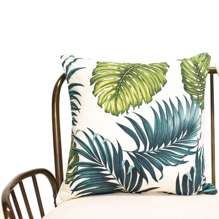Are you interested in our Palm Leaf Cushion Cover? With our Palm Print Cream Cushion you need look no further.