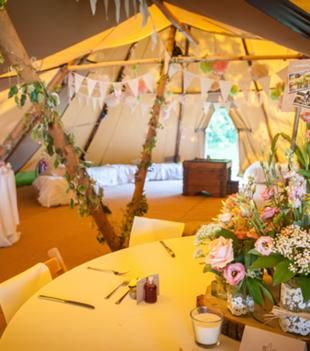 Lots of details from this gorgeous tipi wedding have just been added for sale at www.sellmywedding.co.uk