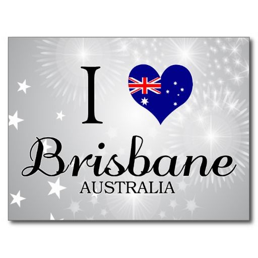 I Love Brisbane, Australia Post Cards