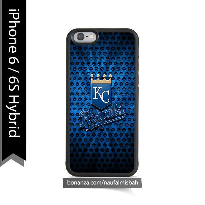 Kansas City Royals Logo iPhone 6/6s HYBRID Case Cover - Cases, Covers & Skins
