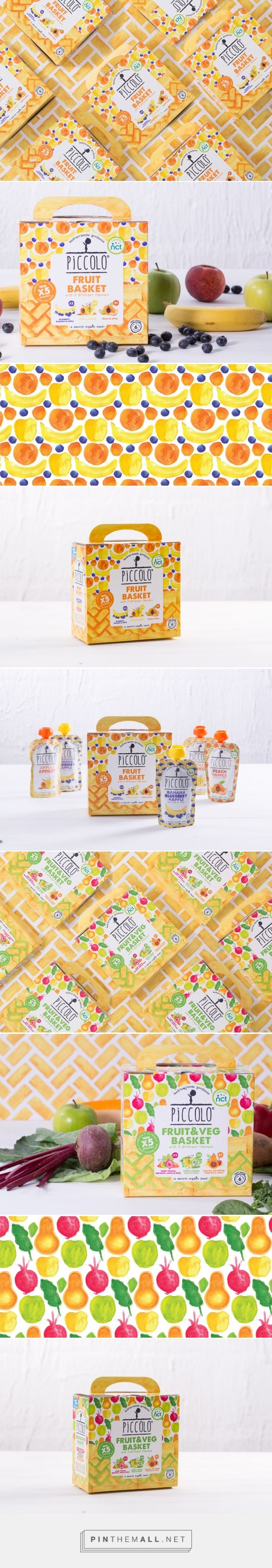 Piccolo Baby Food Baskets - Packaging of the World - Creative Package Design Gallery - http://www.packagingoftheworld.com/2017/05/piccolo-baby-food-baskets.html