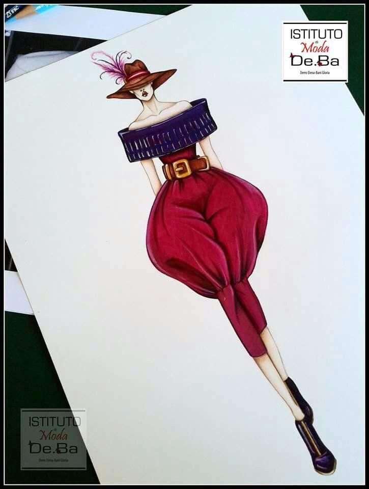 Jumpsuit ispirata allo stile di Gianfranco Ferrè