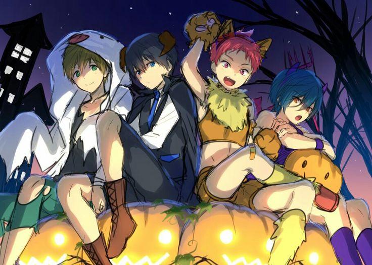 Free! Iwatobi Swim Club Halloween