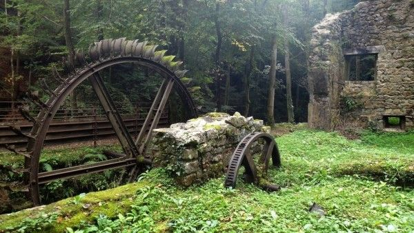 Watermill in France