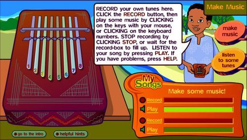 Here's a fun collection of interactive websites related to Music that work great on your SMART Board Interactive Whiteboard.