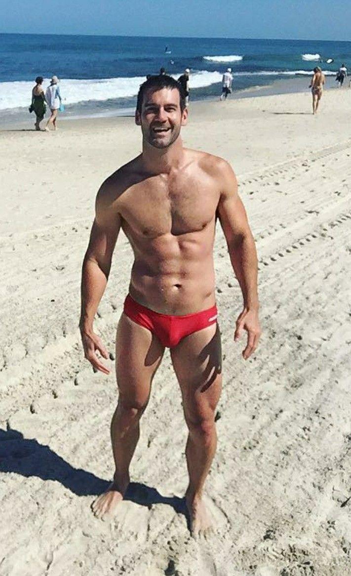 e83a583c77 Mw Man Swimming, Swimwear Fashion, Men's Swimwear, Man 2 Man, Sexy Beard