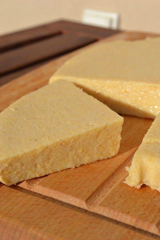 WEGANON: WEGAŃSKI NABIAŁ Z CIECIERZYCY - SER / Chickpea cheese