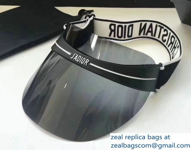 21fcd5d95aa83 Dior J  adior DiorClub1 Transparent Sun Visor Hat Gray 2018 Sun Visor Hat