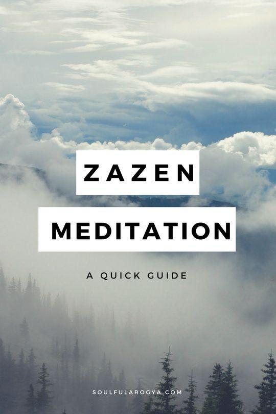 Zazen Meditation - A Quick Guide. Learn more at soulfularogya.com