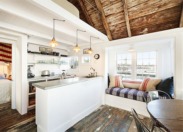 House tours the floor and jack o 39 connell on pinterest for Small beach cottage kitchen ideas