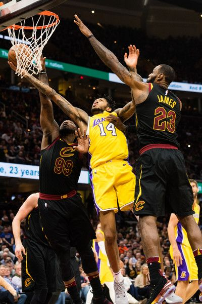 Jae Crowder, Lebron James and Brandon Ingram - Los Angeles Lakers
