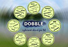 Hra DOBBLE – vybrané slová po M