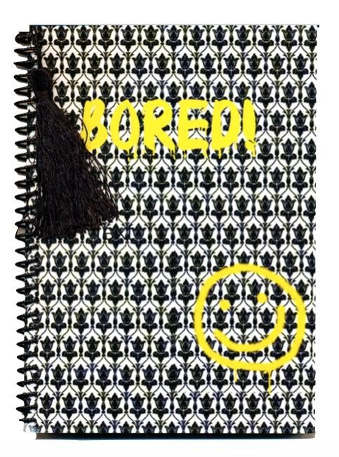 Sherlock wallpaper smiley face bored notebook journal #221-Baker #best-gift-for-readers #best-gifts-for-writers
