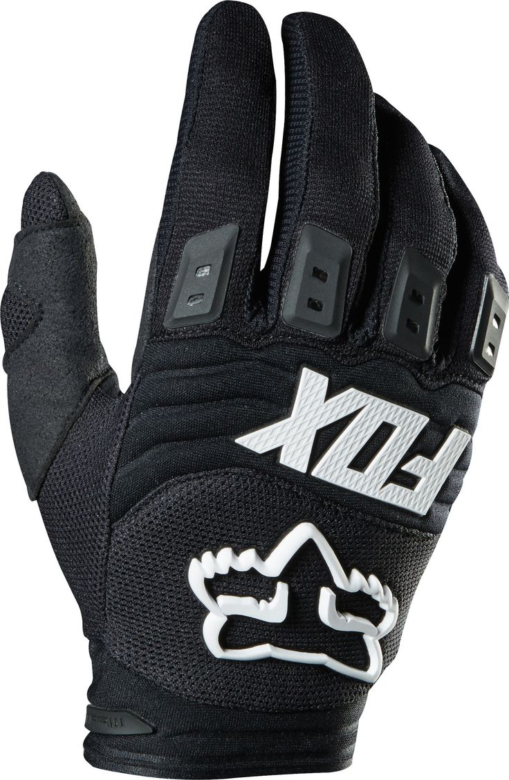 Find best price for Fox Racing Dirtpaw Race Youth Boys MotoX Motorcycle  Gloves - Black / Large