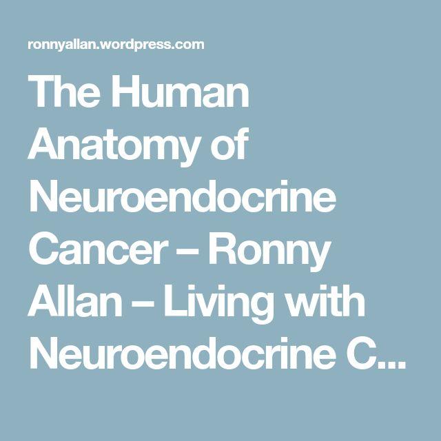 The Human Anatomy of Neuroendocrine Cancer – Ronny Allan – Living with Neuroendocrine Cancer