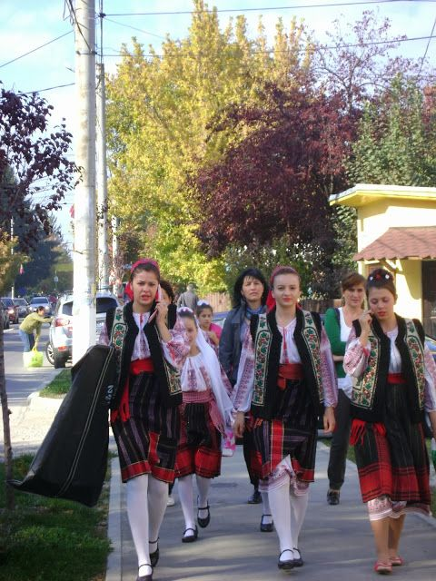 Traditional costumes in Breaza, Prahova
