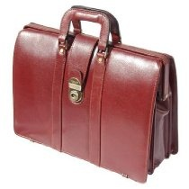 Features  English Style Doctor's Italian Grain Cowhide leather Top Frame Breifcase in Cognac Colour.  Top frame briefcase with internal Organiser full length Zip pockets, Middle Compartment Padded for Laptop.  Three Position Lock. Size : 45.70x30.50x17.80 cm  Individually Packed in a cardboard box. This listing is for Cognac colour