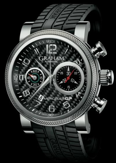 Graham Mercedes GP Trackmaster & Silverstone Chronograph Watches Watch Releases