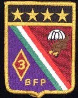 3/o Batallón de Fusileros Paracaidistas Lomas de Sotelo, D.F.