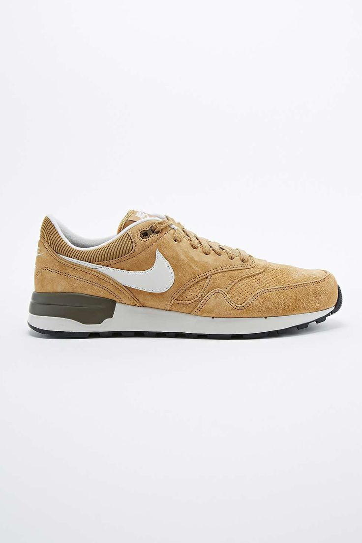 Nike Air Odyssey Suede Trainers in Gold