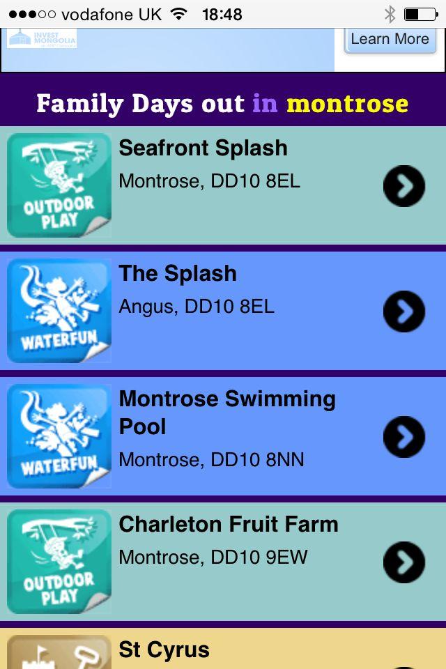 Montrose splash park