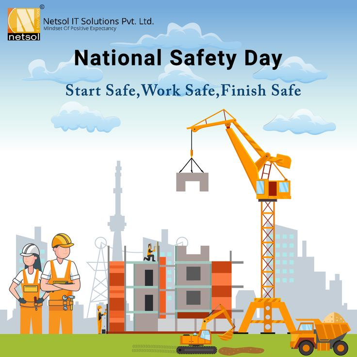 National Safety Day Netsol IT Solutions in 2020