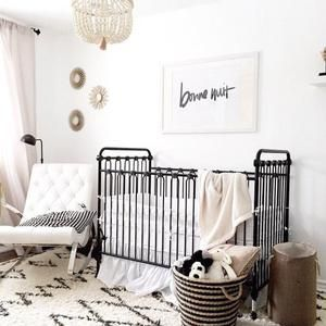 We love the modern feel of this contemporary nursery!