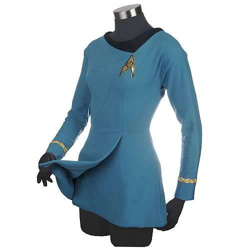 Bring Out Your Feminine Geeky Style with the Star Trek TriCut Dress trendhunter.com