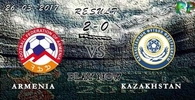 VIDEO Armenia 2 - 0 Kazakhstan HIGHLIGHTS 26.03.2017 | PPsoccer