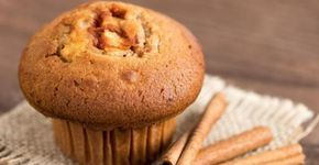 Cassonade, sirop d'érable et compote de pommes...Un muffin savoureux