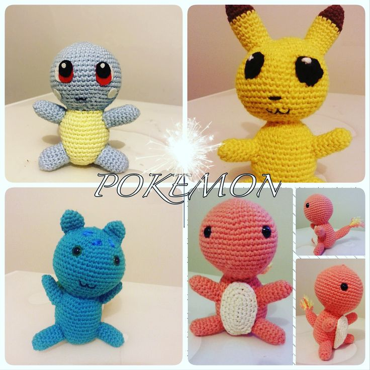 Pokemon # amigurumi #crochet #handmade