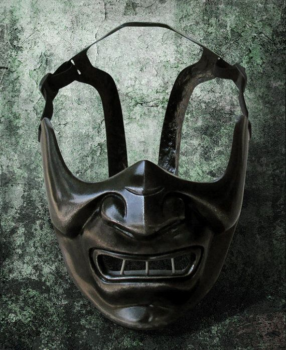 Japanese armored half mask 719 Hannibal rising by TheDarkMask