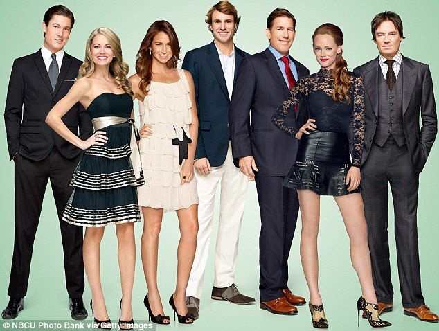 Harsh reality: Publicity picture for the new series of Southern Charm show the couple side...