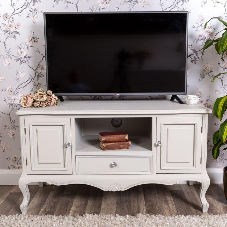 Our gorgeous Eton grey television stand