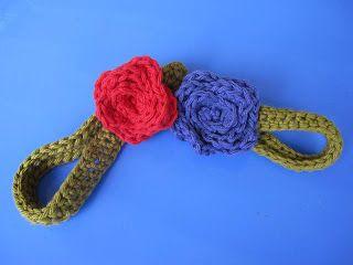 RTW: Crocheted Flower Headband TUTORIAL - Craftaholics Anonymous®