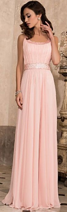 gorgeous pink bridesmaid dress