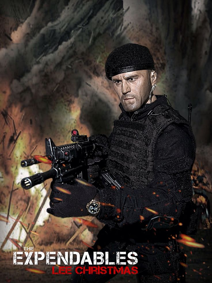 The Expendables: Lee Christmas 1/6 Costom Kitbash #Expendables