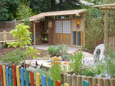 Sensory Garden & Play Areas by Garden Inspiration LimitedPicket Fence